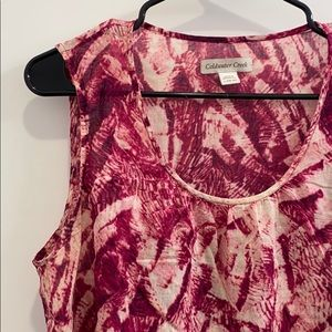 NWOT Cold Water Creek Floral Blouse